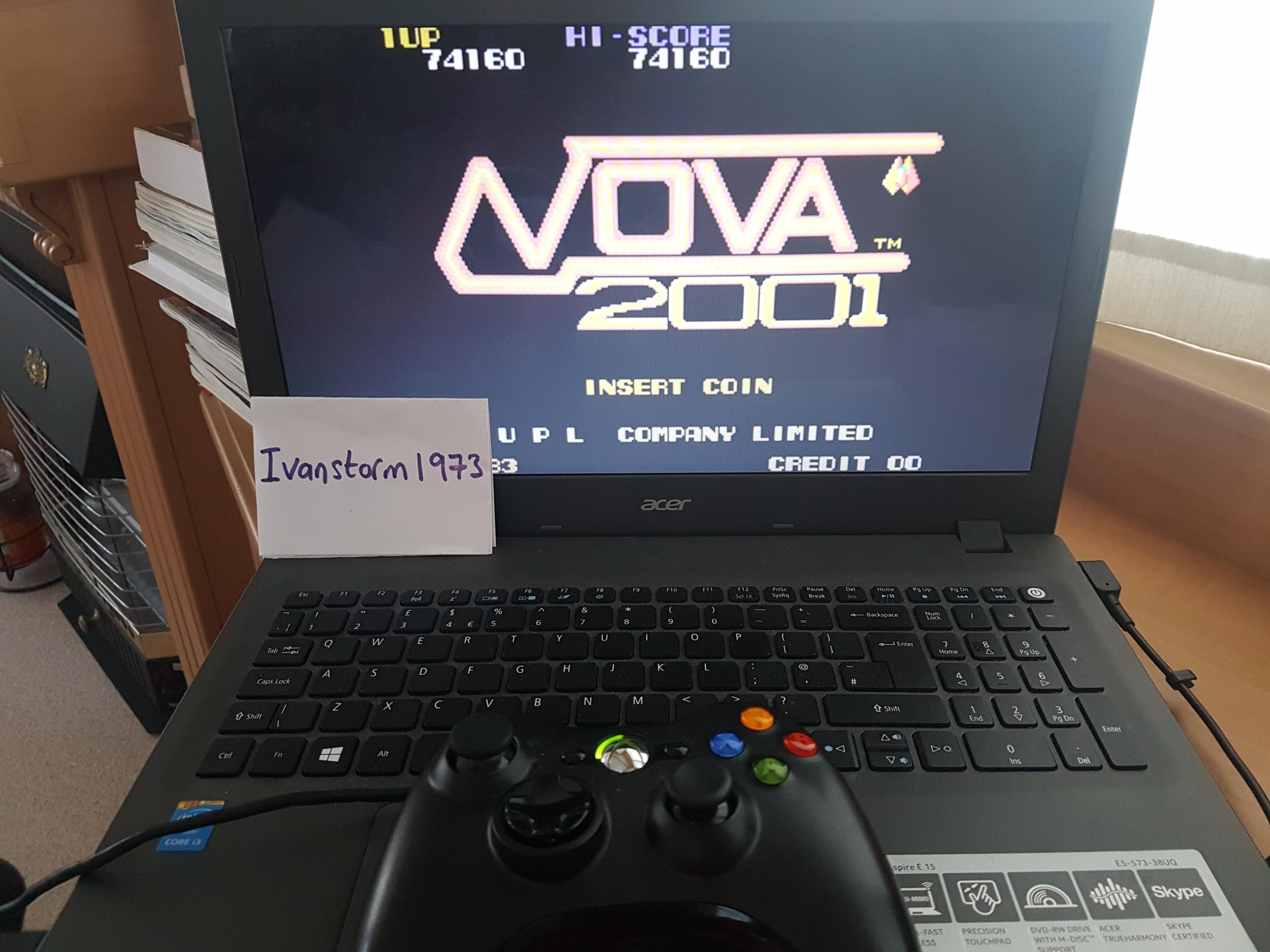 Ivanstorm1973: Nova 2001 (Japan) [Nova2001] (Arcade Emulated / M.A.M.E.) 74,160 points on 2017-07-26 14:51:25