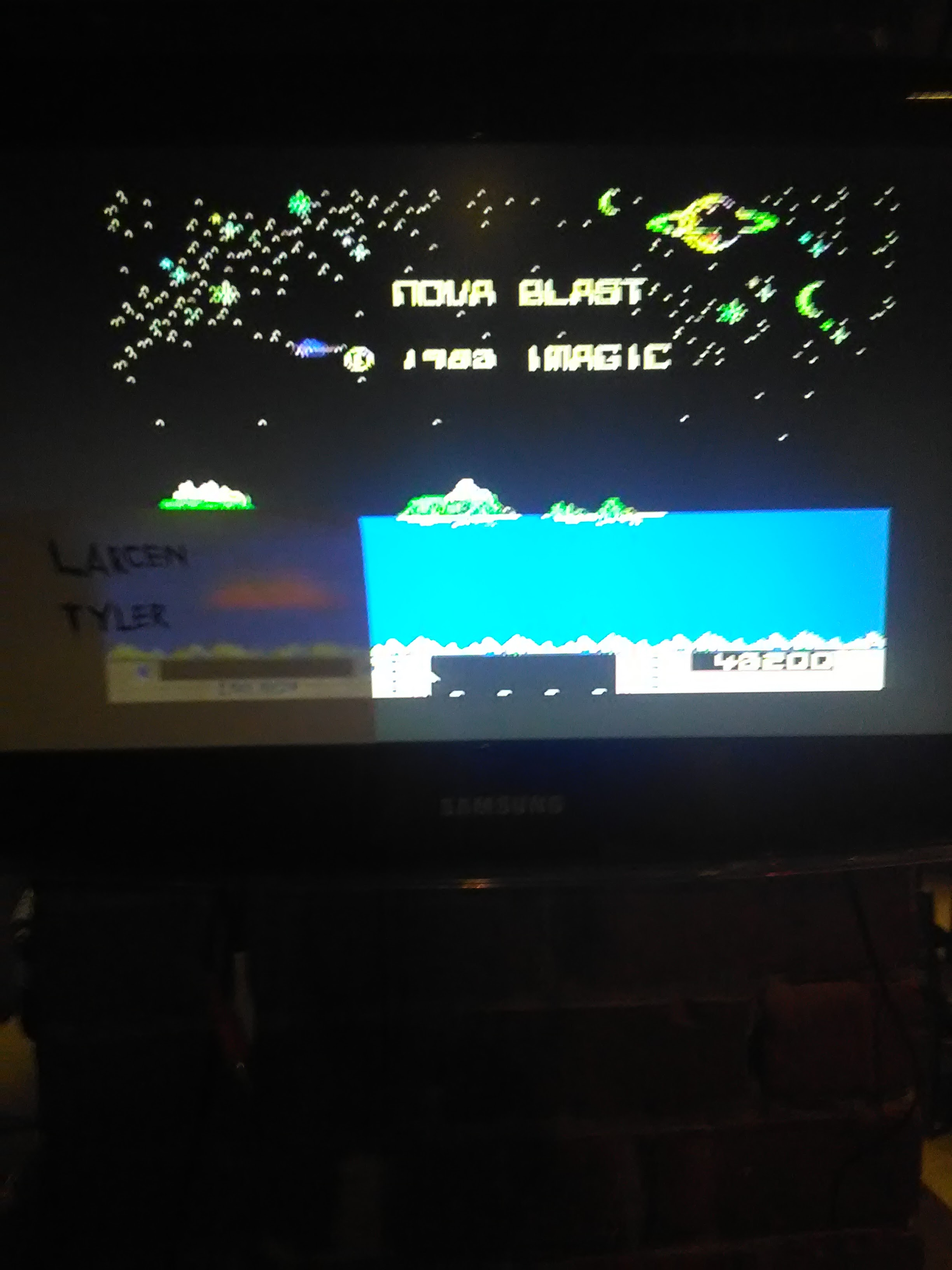 LarcenTyler: Nova Blast (Colecovision Flashback) 43,200 points on 2016-07-11 10:50:50