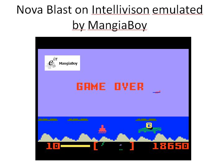 Nova Blast 18,650 points