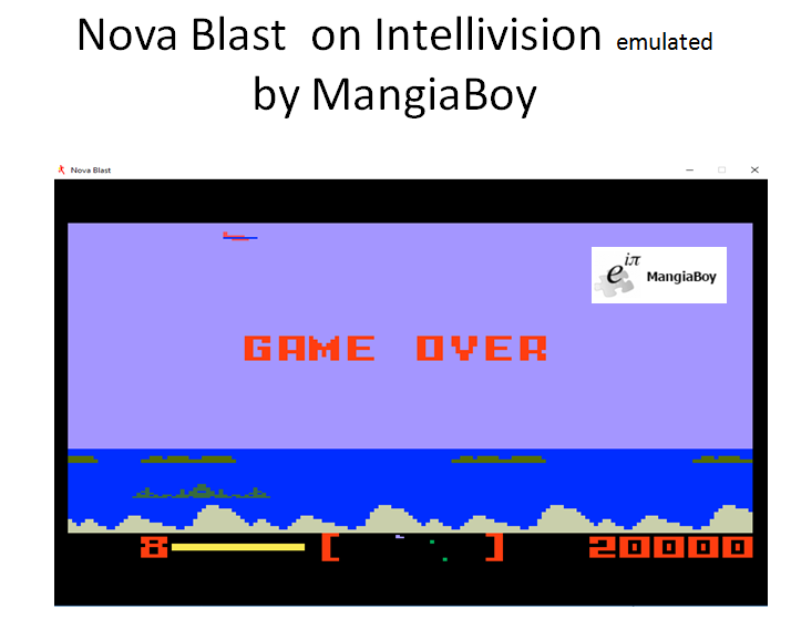 MangiaBoy: Nova Blast (Intellivision Emulated) 20,000 points on 2016-12-13 16:33:42