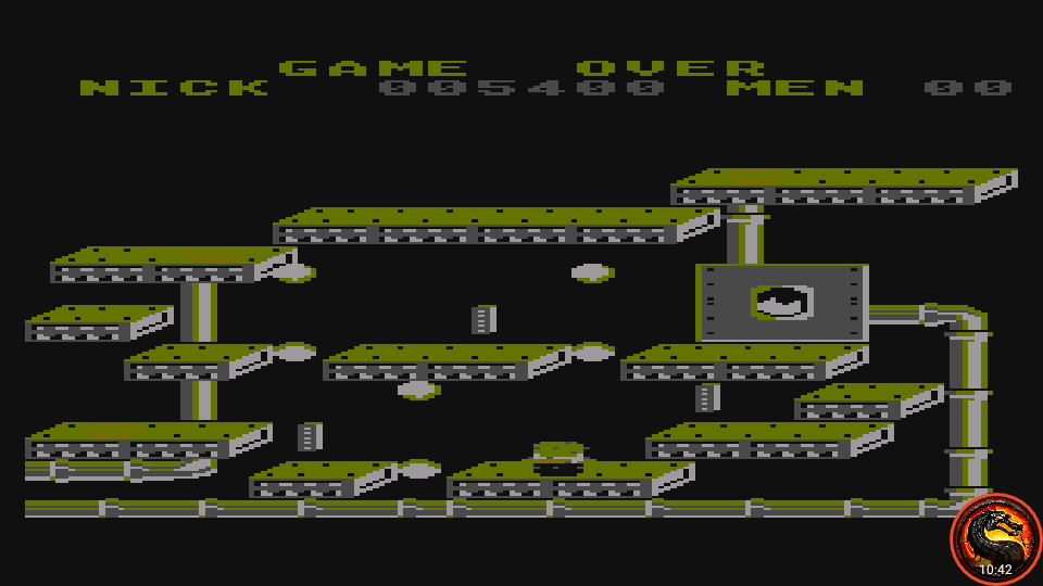 omargeddon: Nuclear Nick (Atari 400/800/XL/XE Emulated) 5,400 points on 2020-07-09 01:11:00
