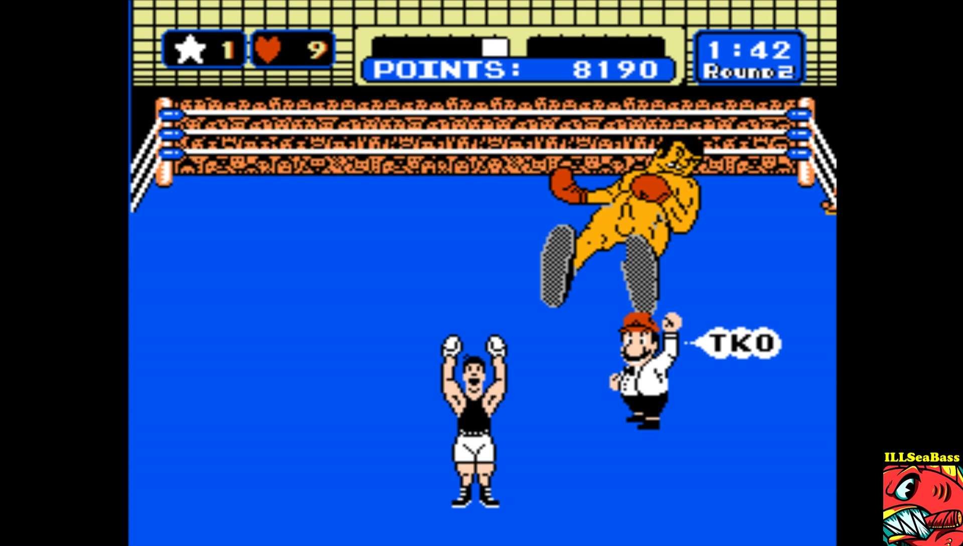 ILLSeaBass: Nude Punch-Out (NES/Famicom Emulated) 8,190 points on 2017-03-11 14:12:42
