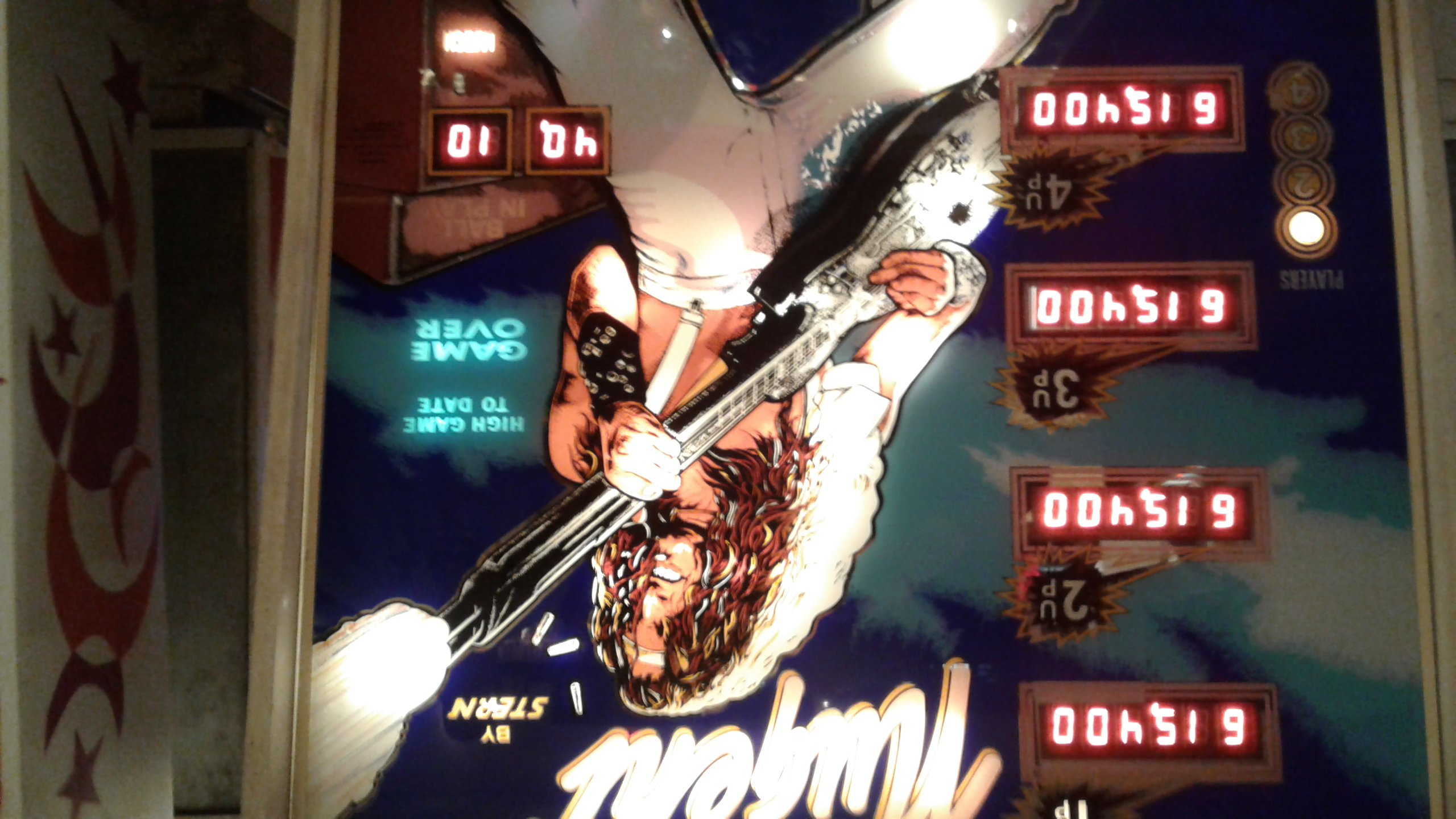 Mark: Nugent (Pinball: 3 Balls) 615,400 points on 2018-04-11 02:53:15