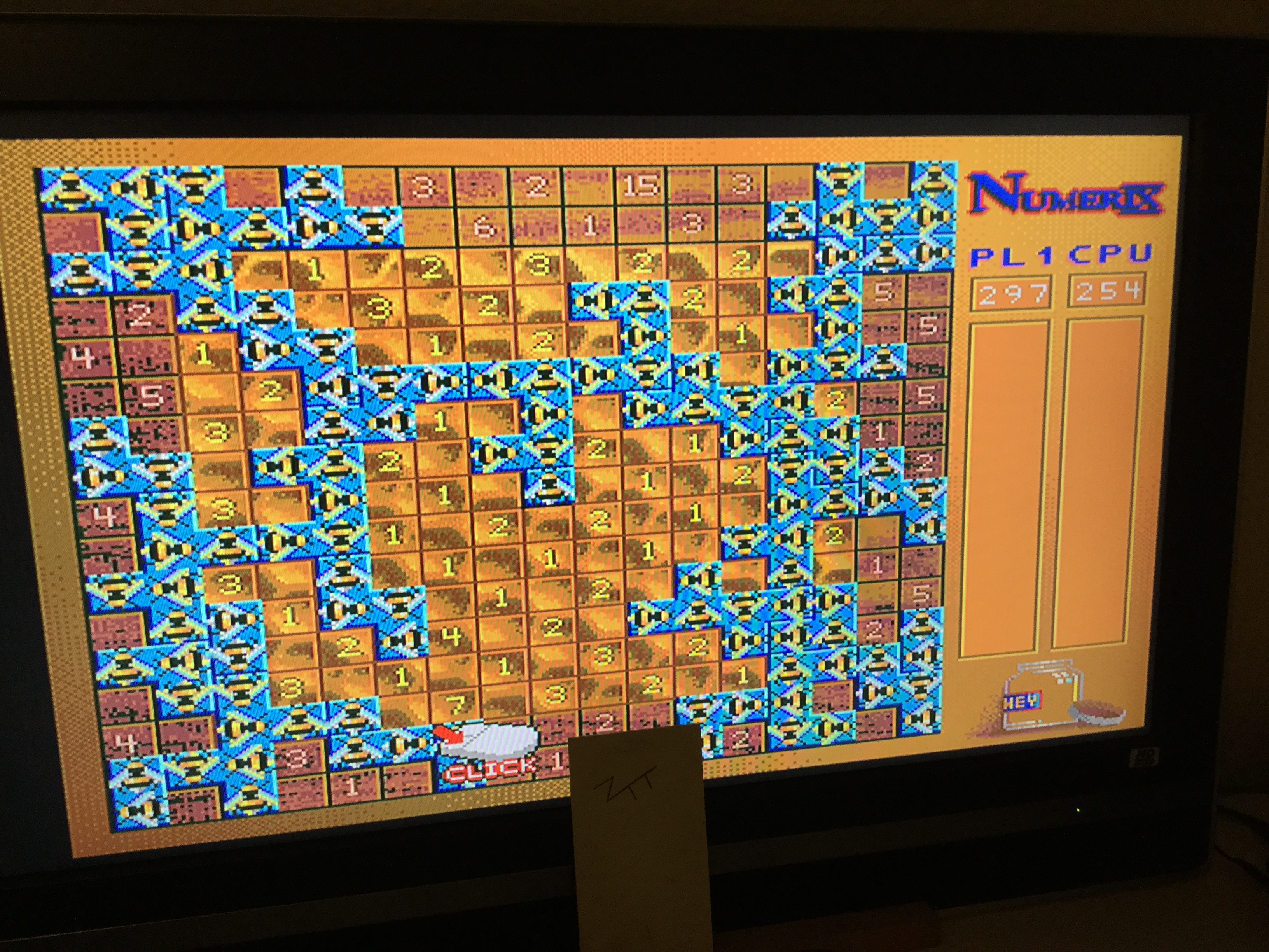 Frankie: Numerix [Board 1 / Timer: Off][Point Difference] (Amiga) 43 points on 2019-10-19 04:06:59