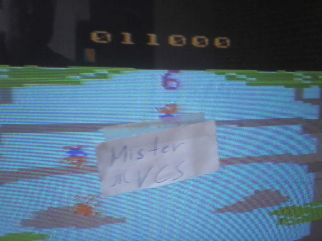 MisterVCS: Nuts (Atari 2600) 11,000 points on 2017-04-09 02:14:56