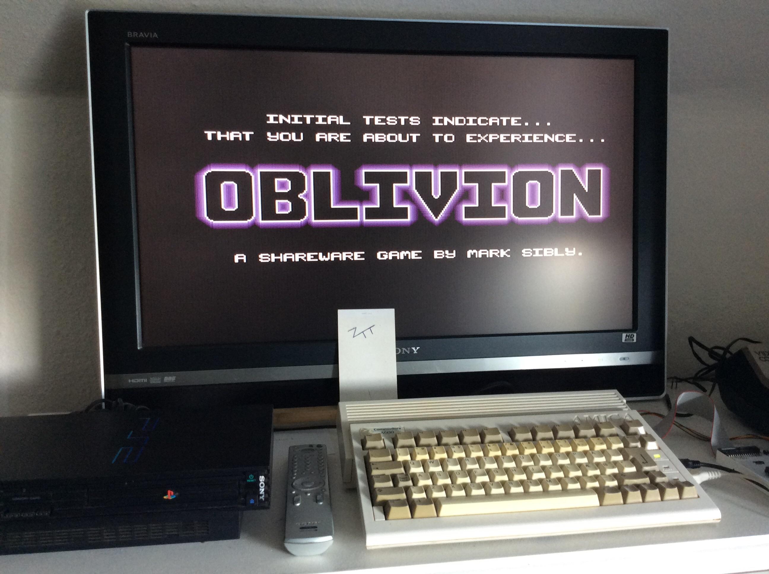 Frankie: Oblivion (Amiga) 8,400 points on 2016-09-25 04:49:01