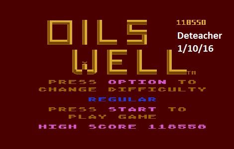 Deteacher: Oil