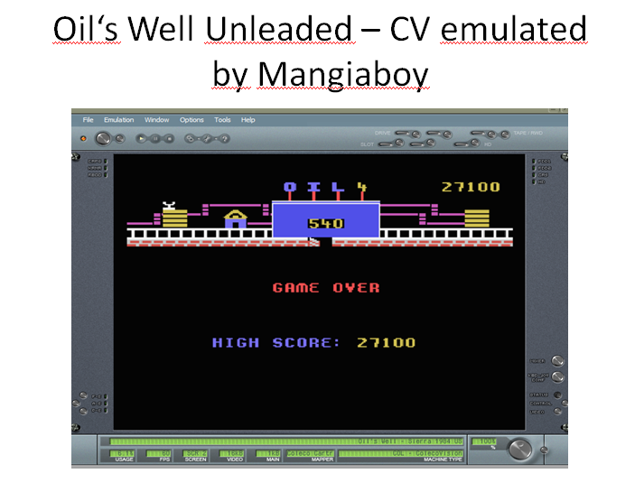MangiaBoy: Oil
