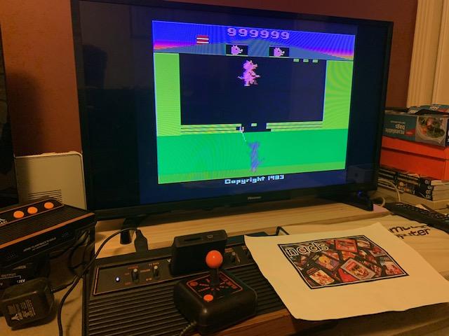 nads: Oink! (Atari 2600 Novice/B) 999,999 points on 2019-09-26 15:15:05