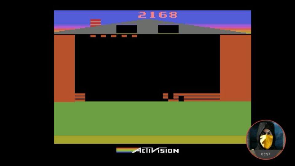omargeddon: Oink! (Atari 2600 Emulated Expert/A Mode) 2,168 points on 2018-03-18 23:03:55