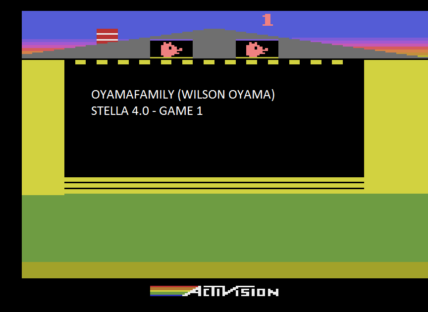 oyamafamily: Oink! (Atari 2600 Emulated Novice/B Mode) 62,092 points on 2015-07-26 12:24:17