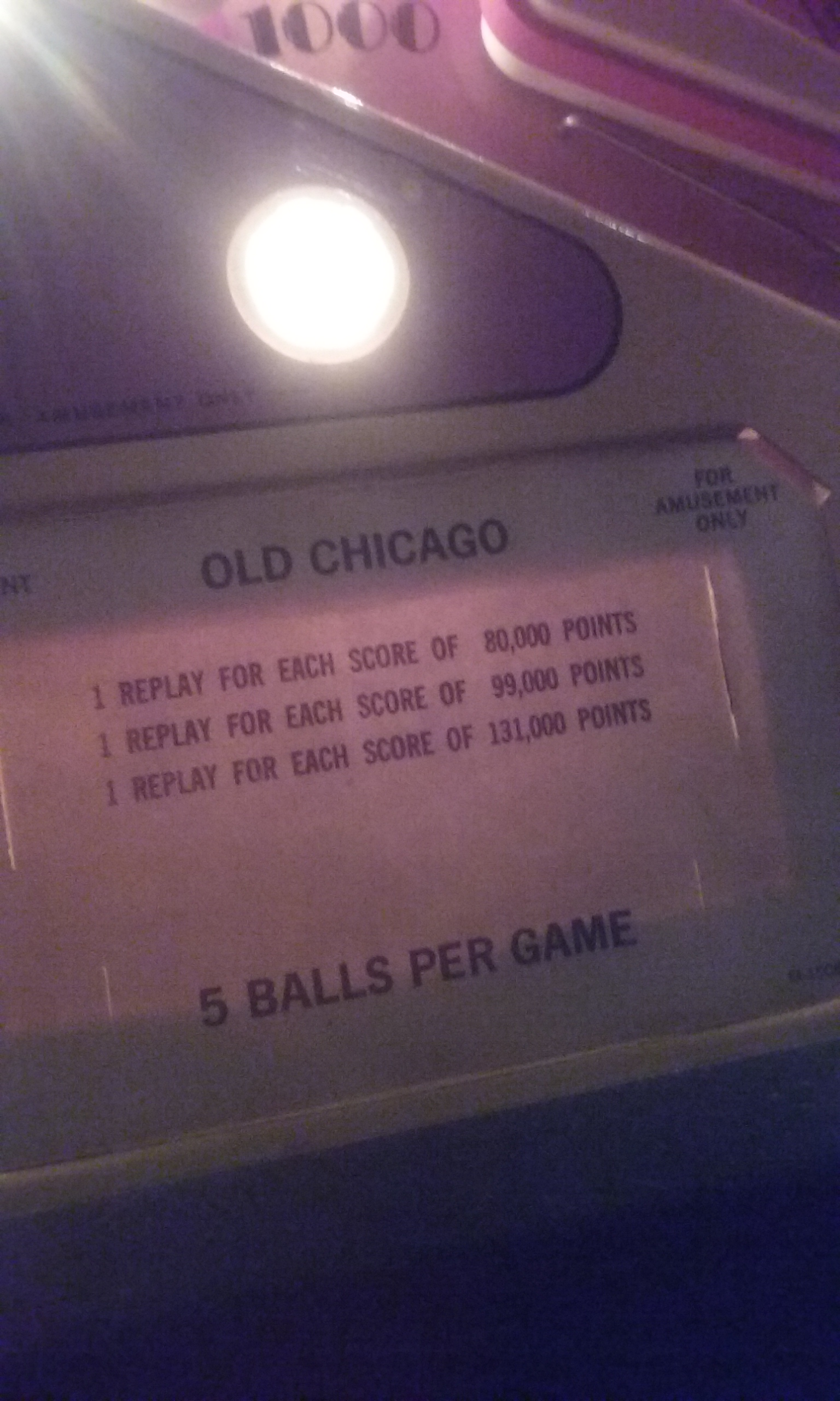 S.BAZ: Old Chicago (Pinball: 5 Balls) 36,240 points on 2019-11-24 19:05:33
