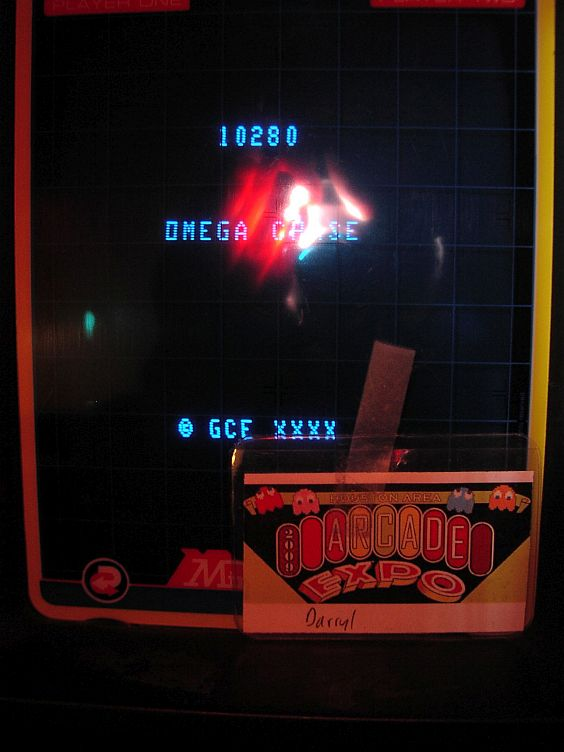 DarrylB: Omega Chase (Vectrex) 10,280 points on 2015-11-15 23:34:49