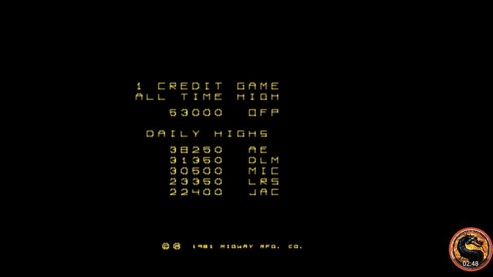 omargeddon: Omega Race (Arcade Emulated / M.A.M.E.) 53,000 points on 2019-04-27 00:19:36