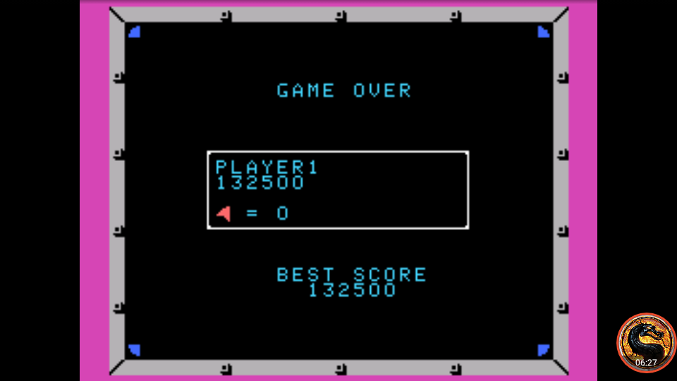 omargeddon: Omega Race (Colecovision Emulated) 132,500 points on 2019-04-25 10:11:56
