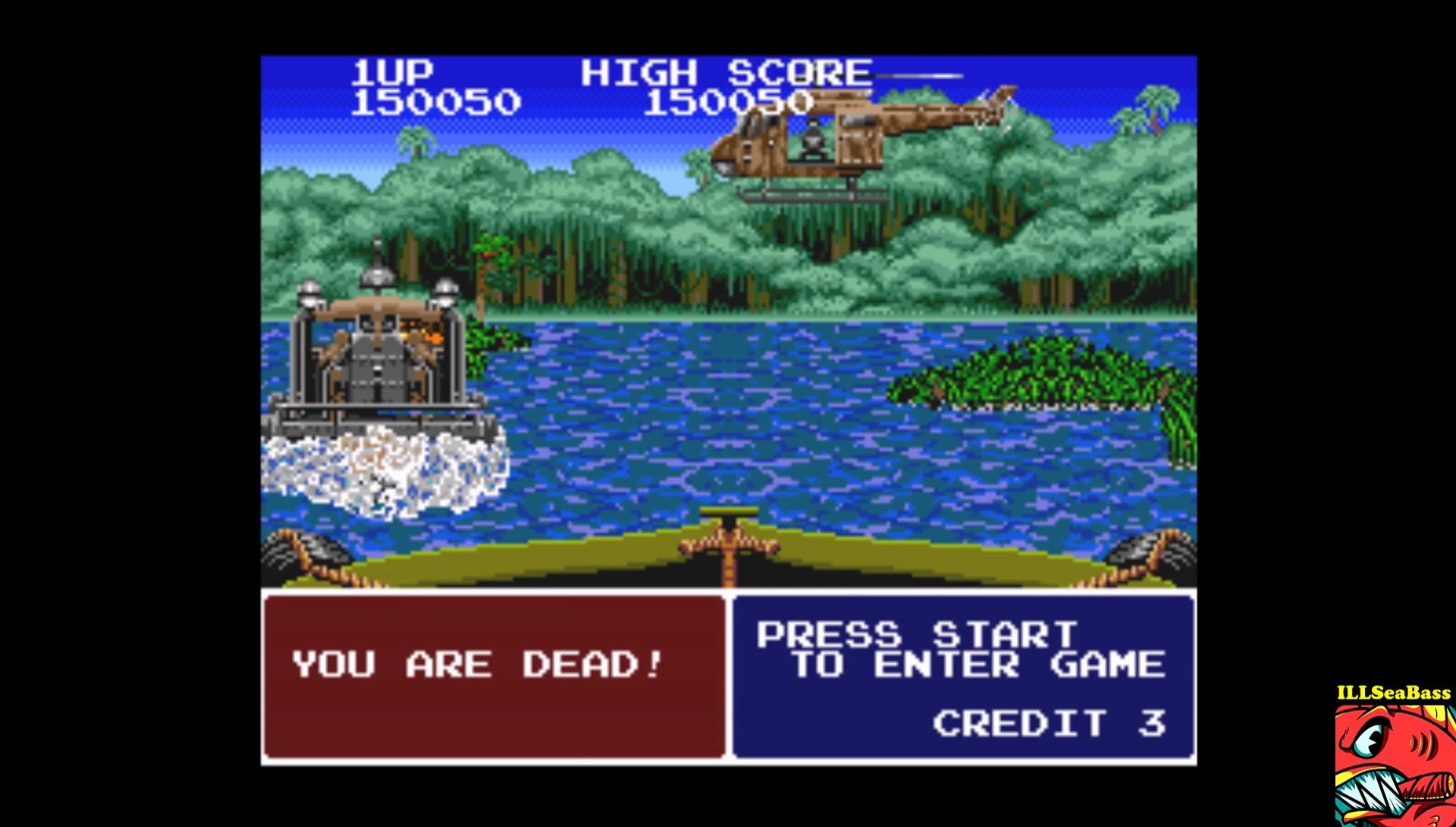 ILLSeaBass: Operation Thunderbolt (SNES/Super Famicom Emulated) 150,050 points on 2017-03-28 23:42:52
