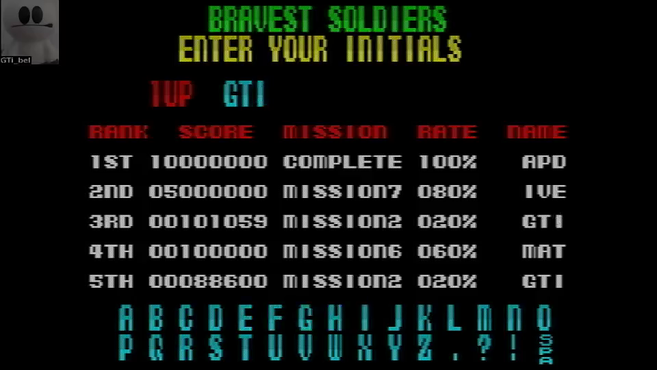 GTibel: Operation Thunderbolt (ZX Spectrum Emulated) 101,059 points on 2016-06-20 10:47:50