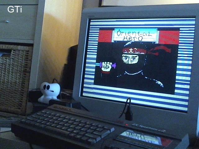 GTibel: Oriental Hero (ZX Spectrum) 940 points on 2017-06-06 11:50:56