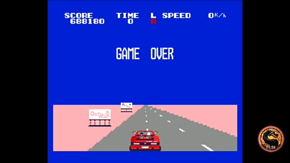 omargeddon: Out Run (Pony Canyon MSX2) (MSX Emulated) 688,180 points on 2018-11-28 11:28:23