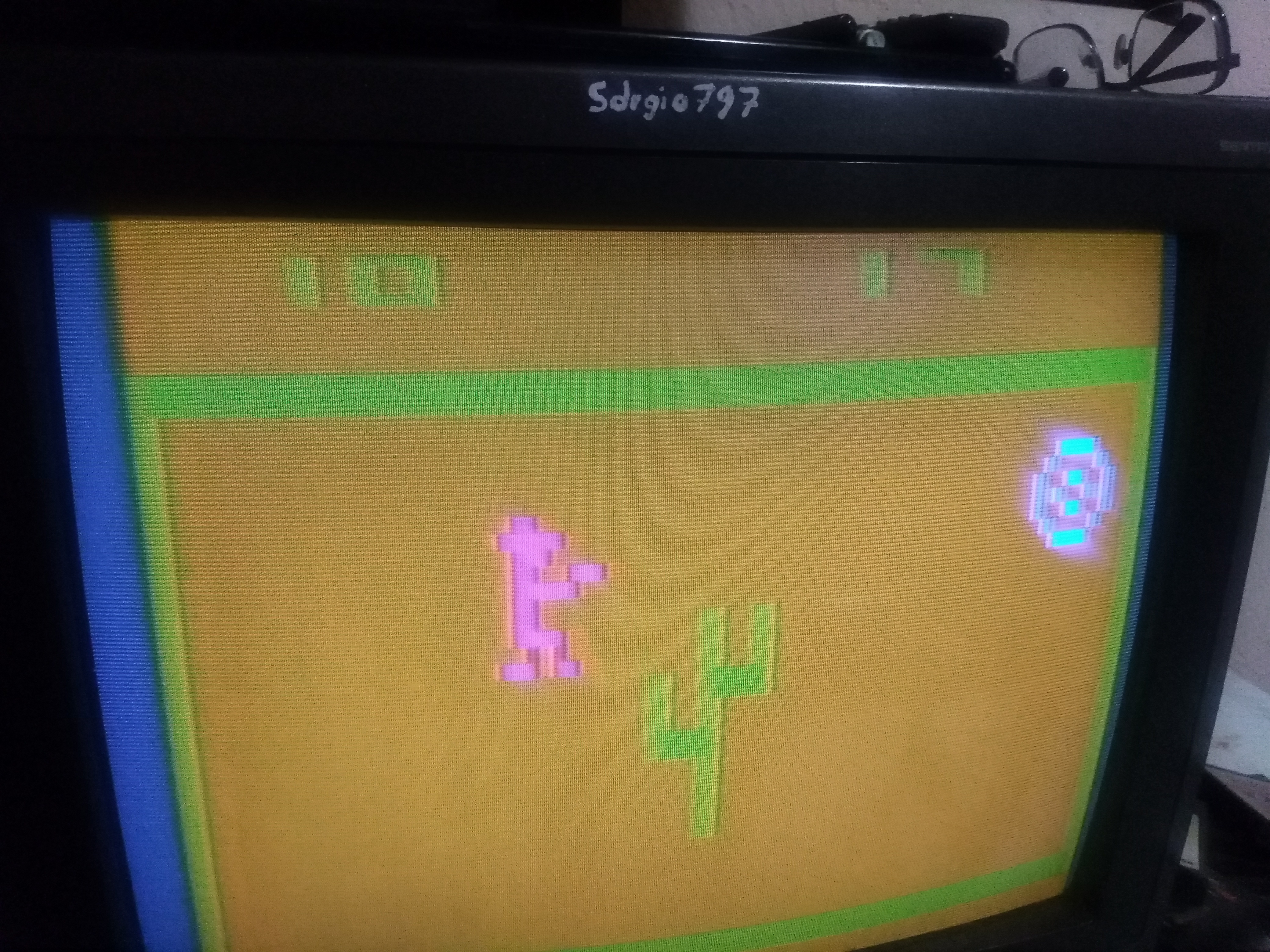 Sdrgio797: Outlaw: Game 13 [Fastest Time to 10 points] (Atari 2600 Expert/A) 0:00:17 points on 2020-07-04 05:12:21