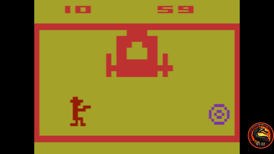 omargeddon: Outlaw: Game 16 [Fastest Time To 10 Points] (Atari 2600 Emulated Novice/B Mode) 59 points on 2020-01-11 14:56:07