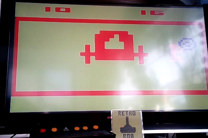 RetroRob: Outlaw: Game 16 [Fastest Time To 10 Points] (Atari 2600 Emulated Novice/B Mode) 16 points on 2020-04-04 04:42:45