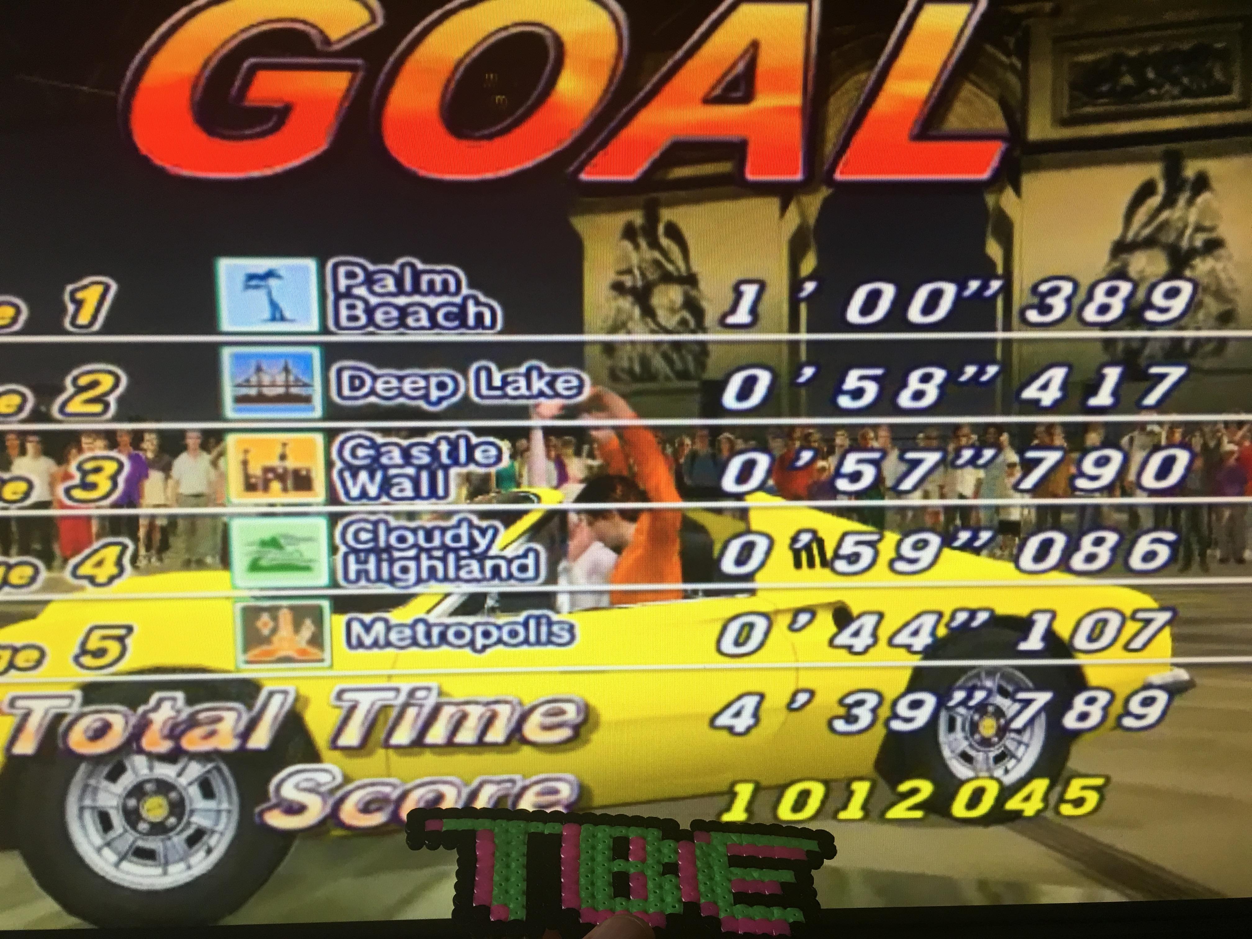 Outrun 2006: Coast to Coast: Outrun 2: Goal B (PC) high score