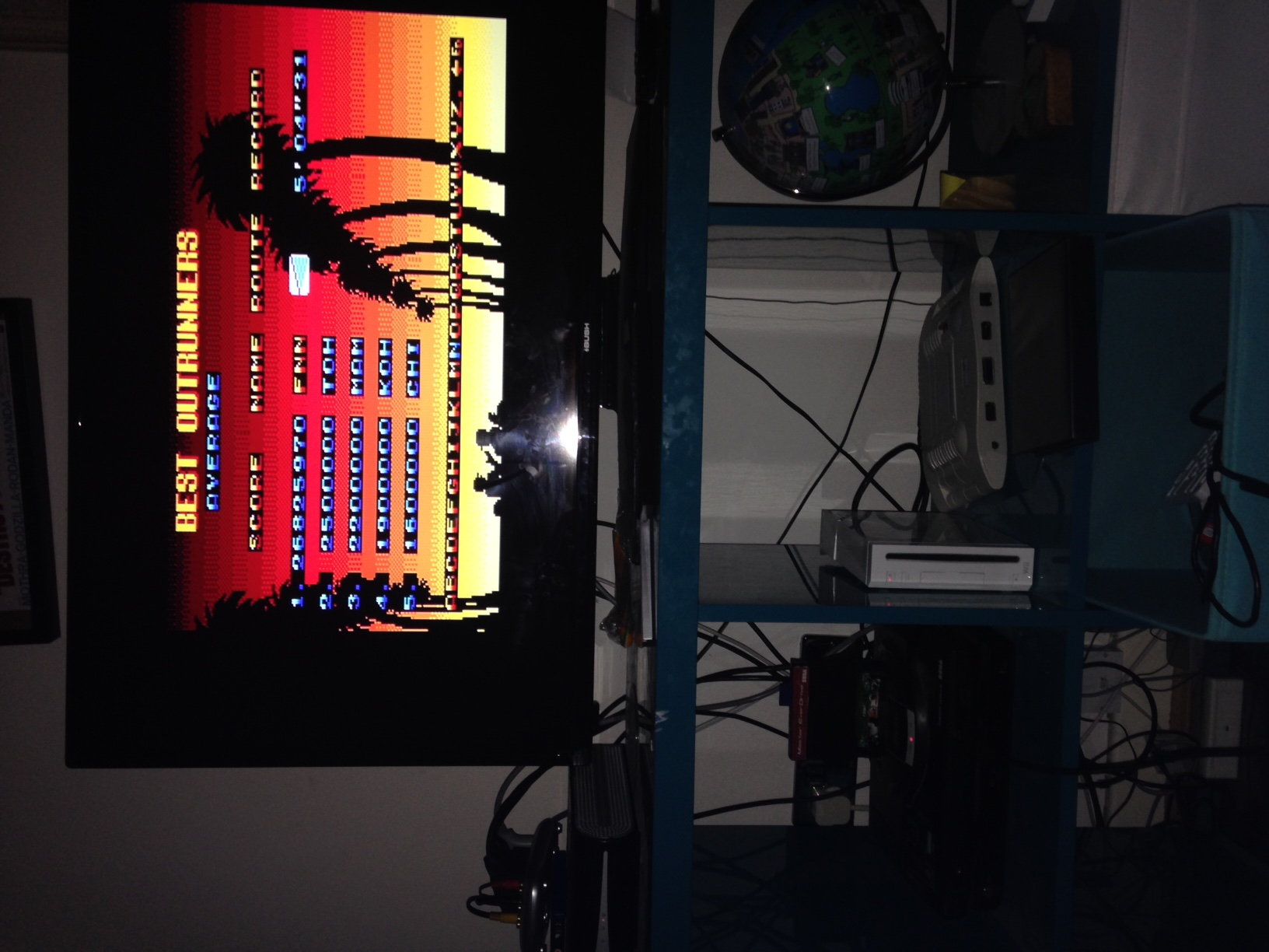 mechafatnick: Outrun 3D (Sega Master System) 26,825,970 points on 2016-01-14 01:15:14