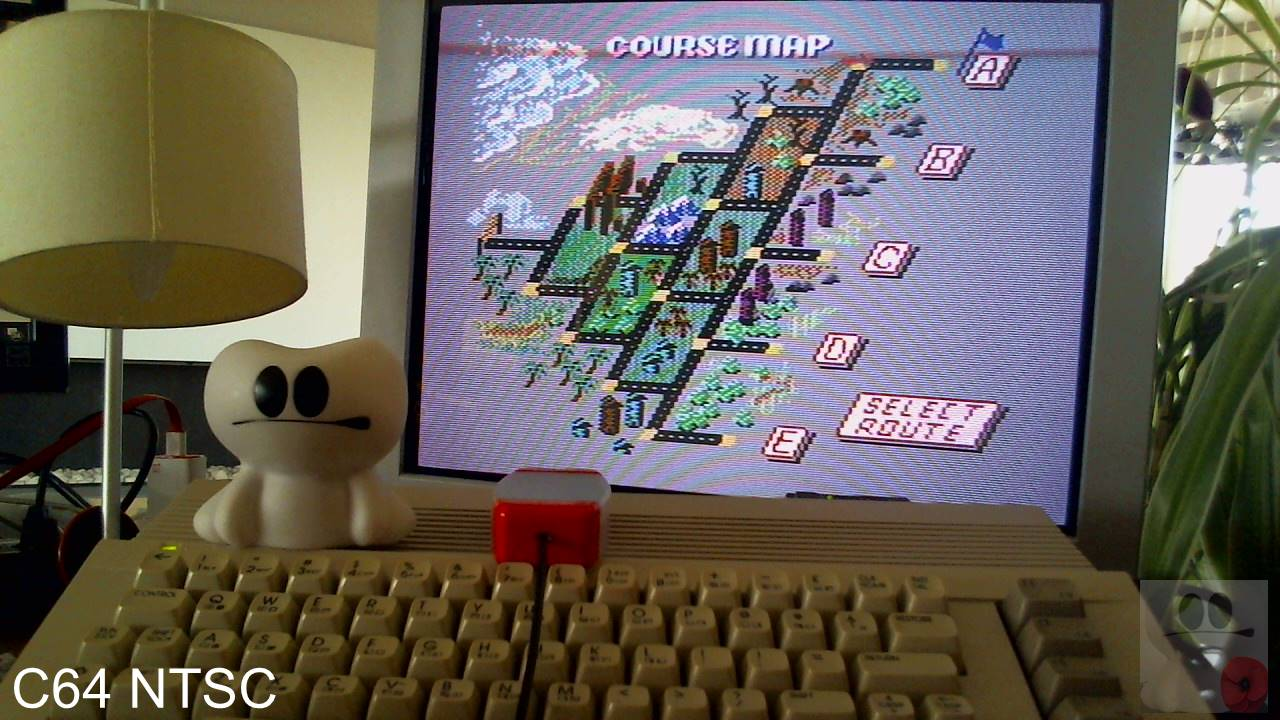 GTibel: Outrun: Course A (Commodore 64) 1,480,590 points on 2020-04-07 11:35:01