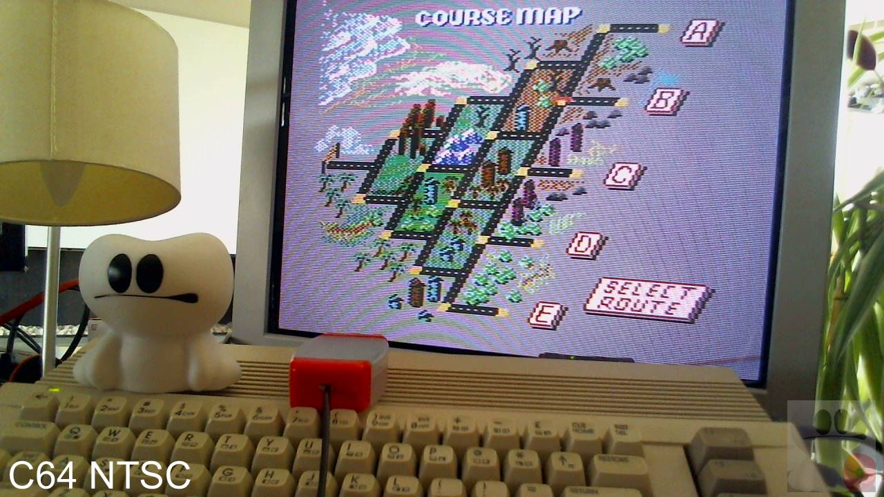 GTibel: Outrun: Course B (Commodore 64) 1,483,440 points on 2020-04-08 05:40:24