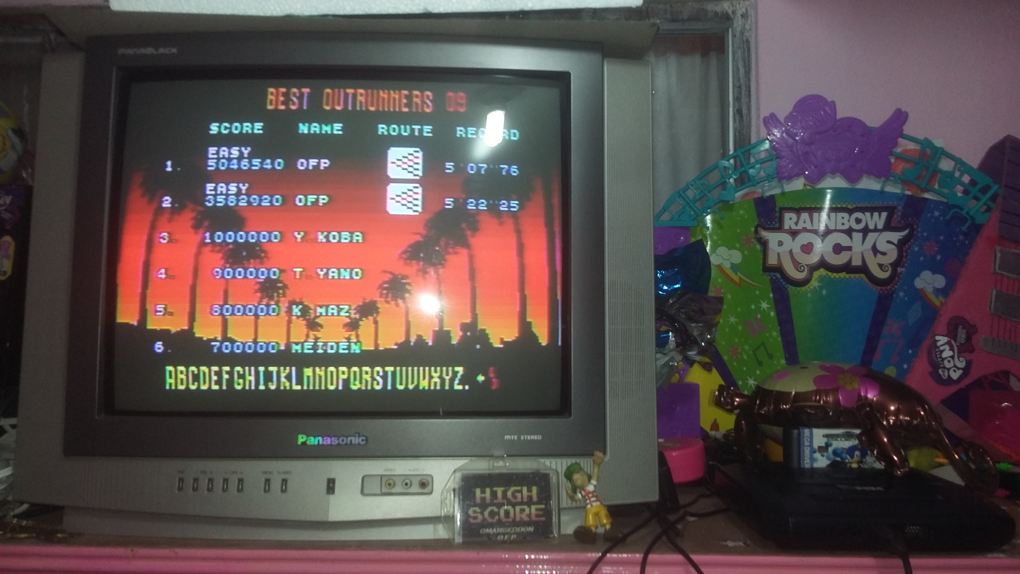 omargeddon: Outrun [Easy] (Sega Genesis / MegaDrive) 5,046,540 points on 2018-08-11 01:06:05