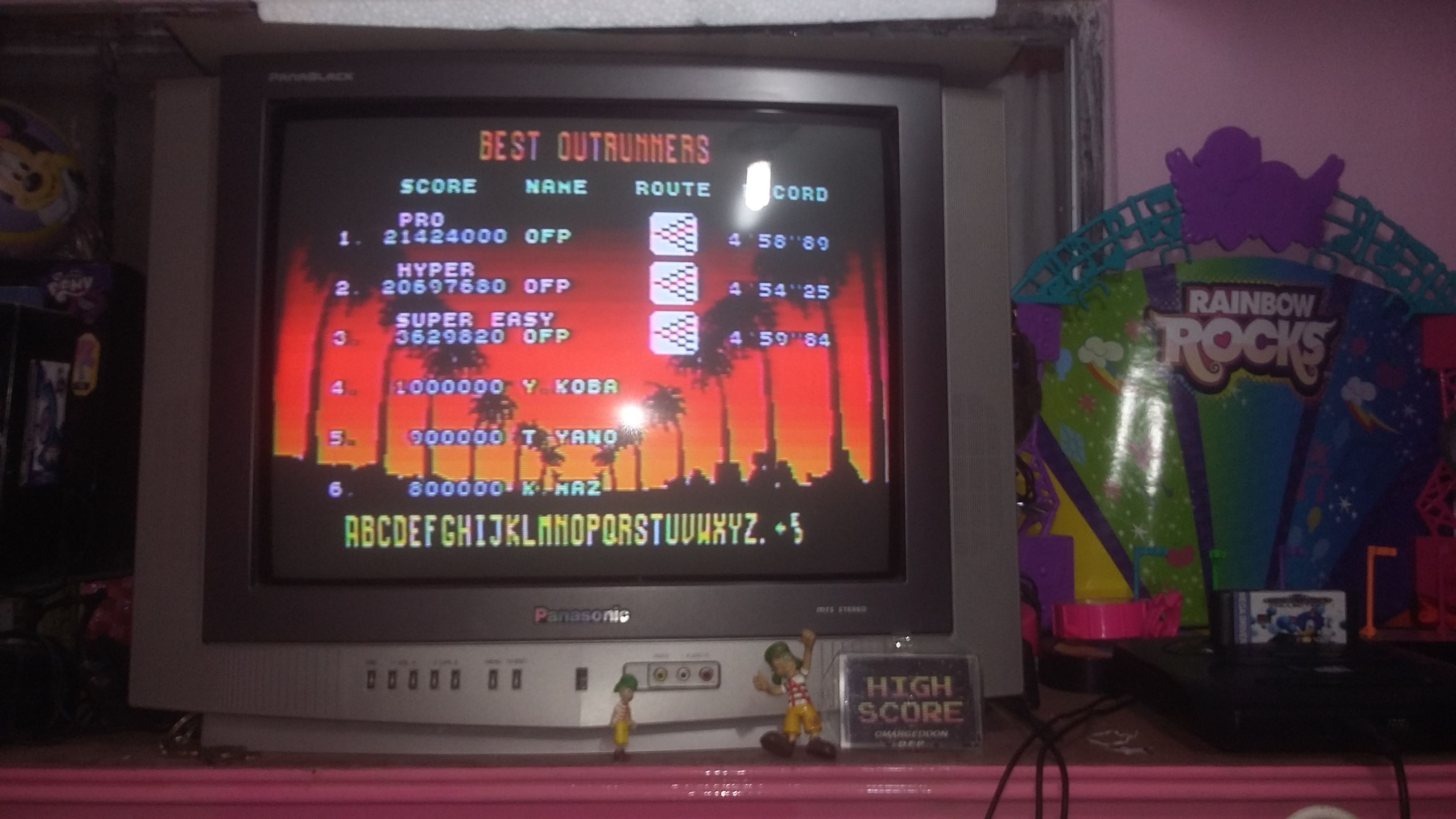 omargeddon: Outrun [Hyper] (Sega Genesis / MegaDrive) 20,697,680 points on 2018-08-15 23:33:33