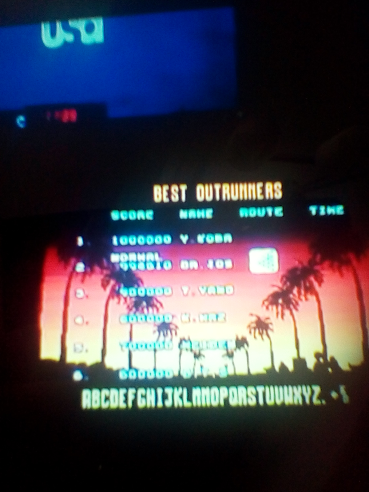 DrJoshDaReagamer22A: Outrun: Normal (Sega Genesis / MegaDrive Emulated) 994,610 points on 2018-06-13 17:29:51