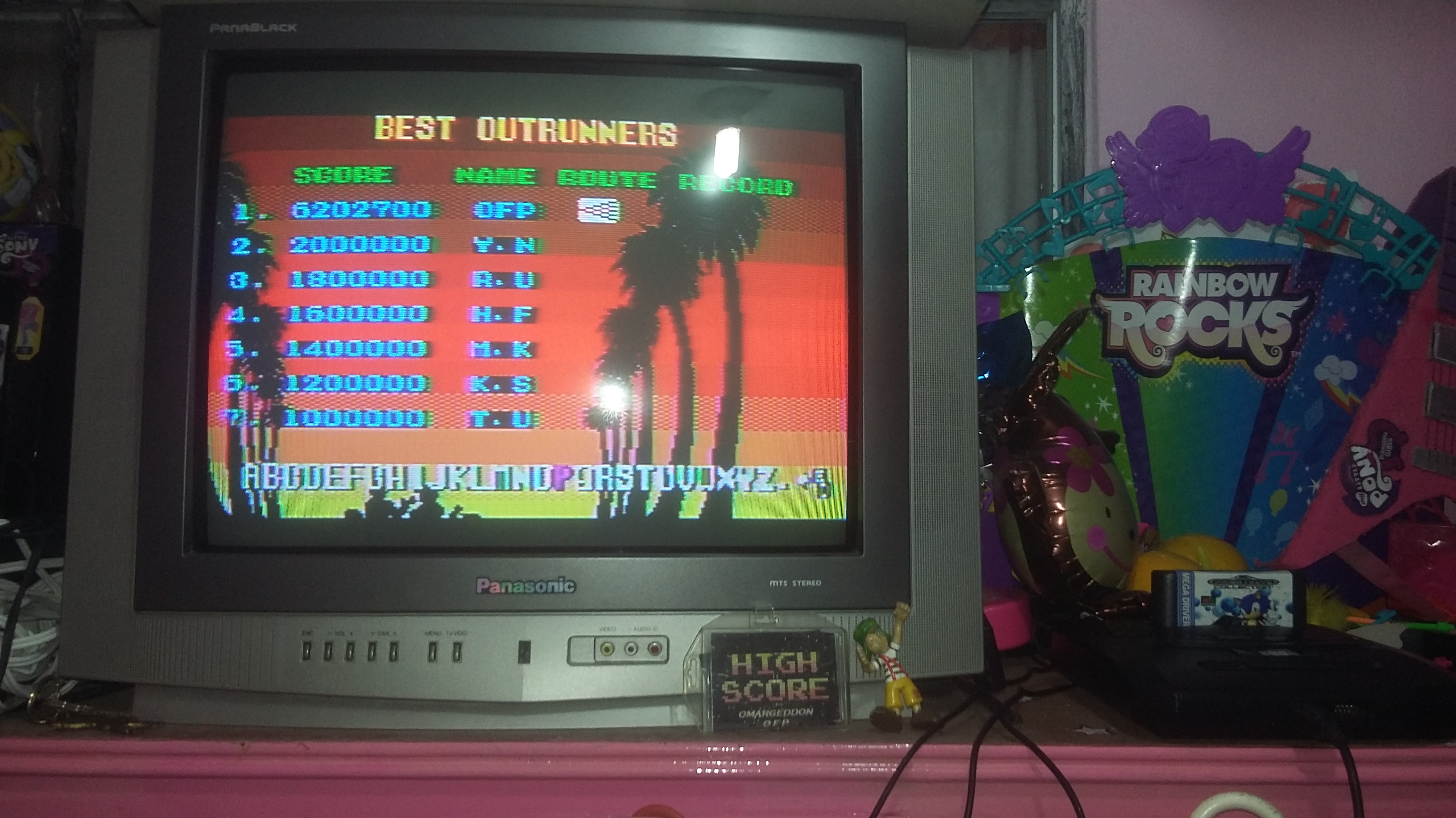 omargeddon: Outrun (Sega Master System) 6,202,700 points on 2018-08-11 02:02:30