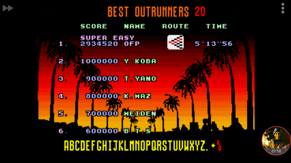 omargeddon: Outrun [Super Easy] (Sega Genesis / MegaDrive Emulated) 2,934,520 points on 2018-06-17 09:56:11