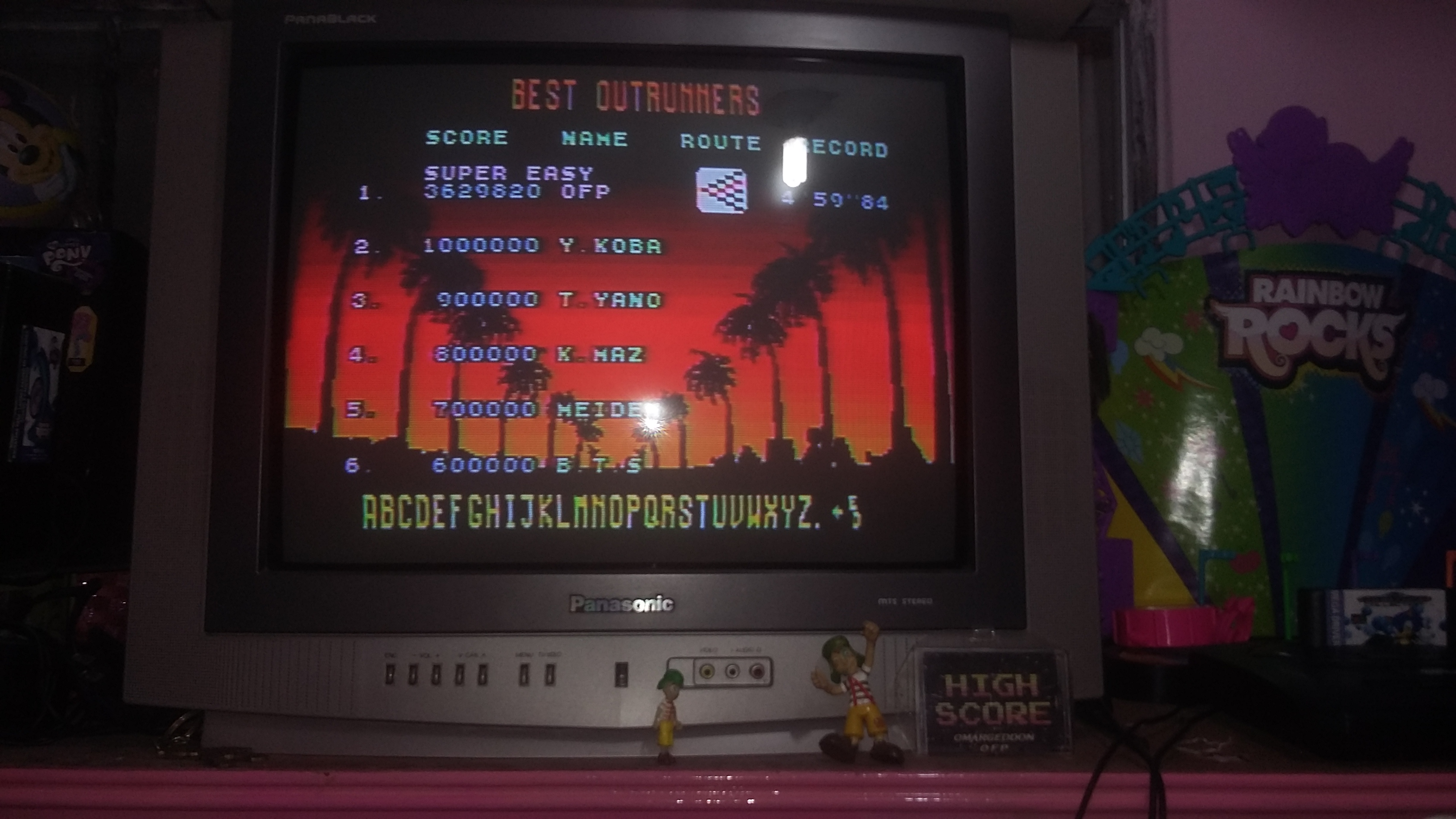 omargeddon: Outrun [Super Easy] (Sega Genesis / MegaDrive) 3,629,820 points on 2018-08-15 23:01:45