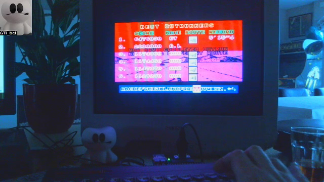 GTibel: Outrun (ZX Spectrum) 6,476,030 points on 2018-01-08 08:31:14