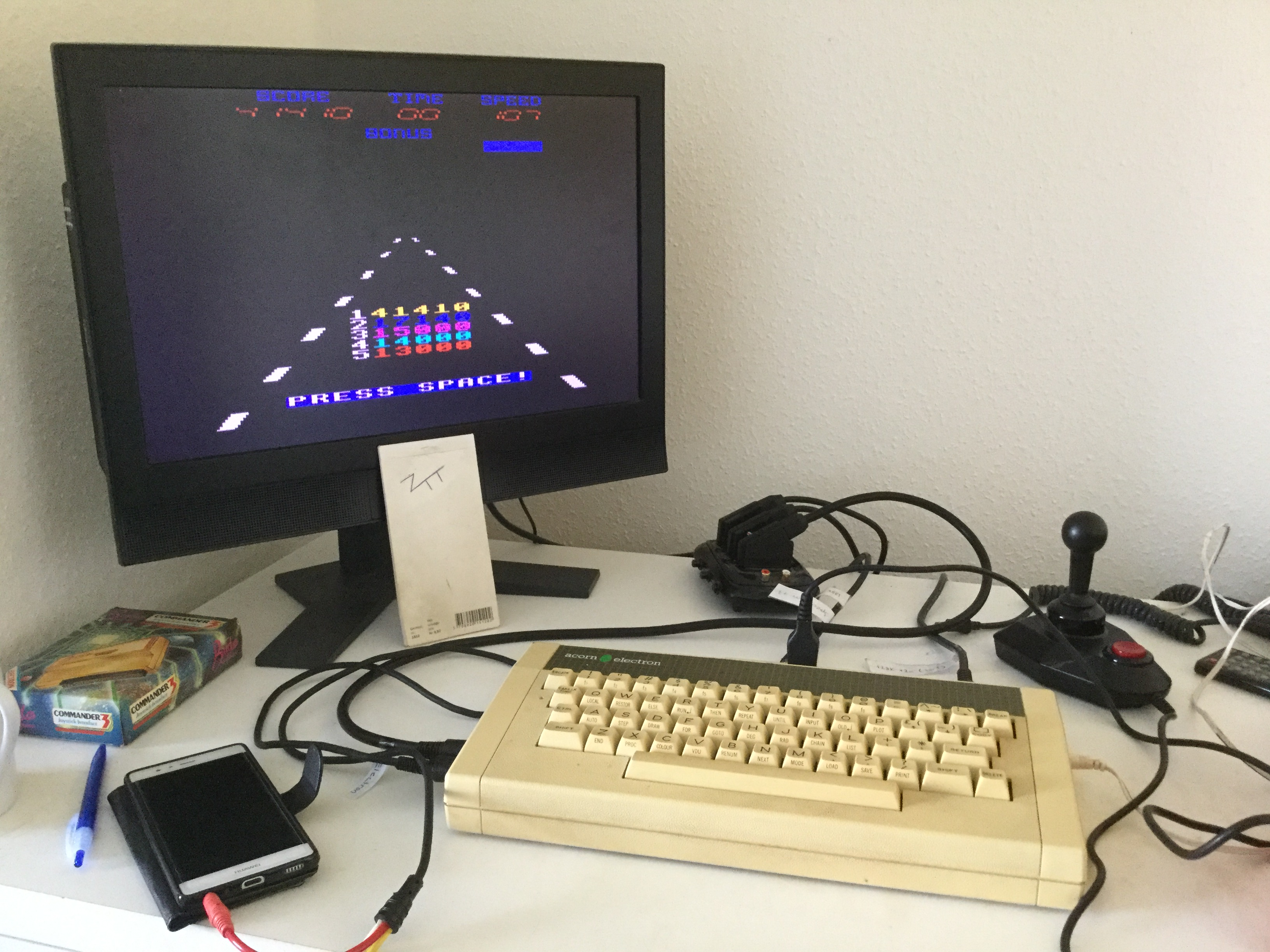 Frankie: Overdrive (Acorn Electron) 41,410 points on 2020-03-26 12:33:14