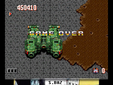 S.BAZ: Override (TurboGrafx-16/PC Engine Emulated) 450,410 points on 2016-07-29 13:44:17
