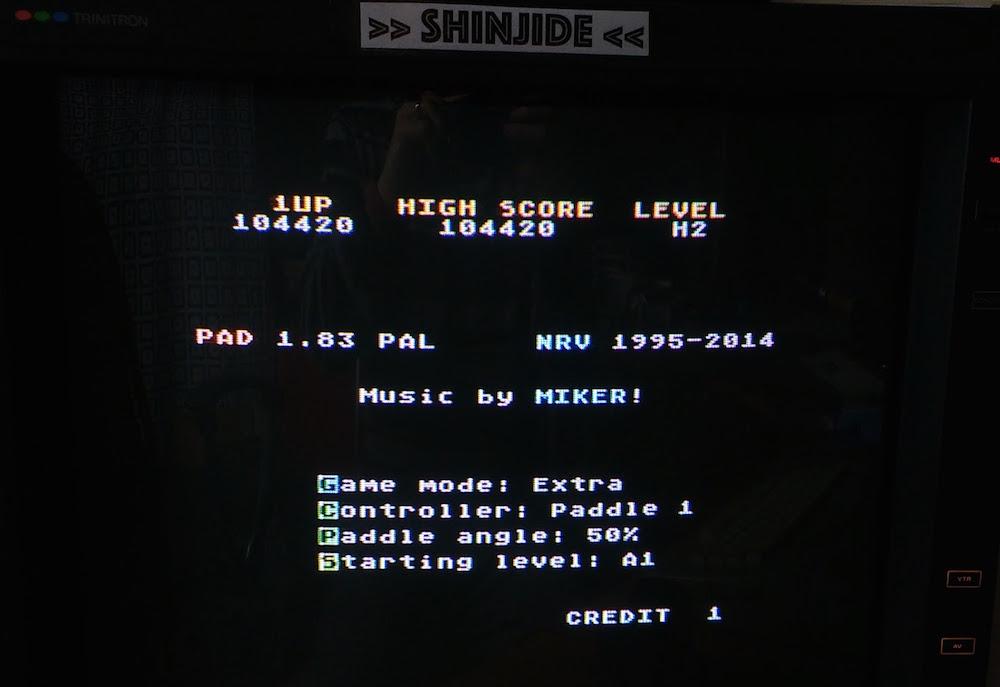 SHiNjide: PAD V1.83 (Atari 400/800/XL/XE) 104,420 points on 2015-11-04 05:31:52