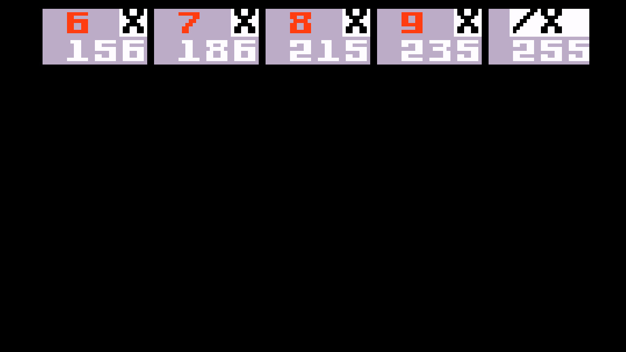 TheTrickster: PBA Bowling (Intellivision Emulated) 255 points on 2016-06-19 00:30:58