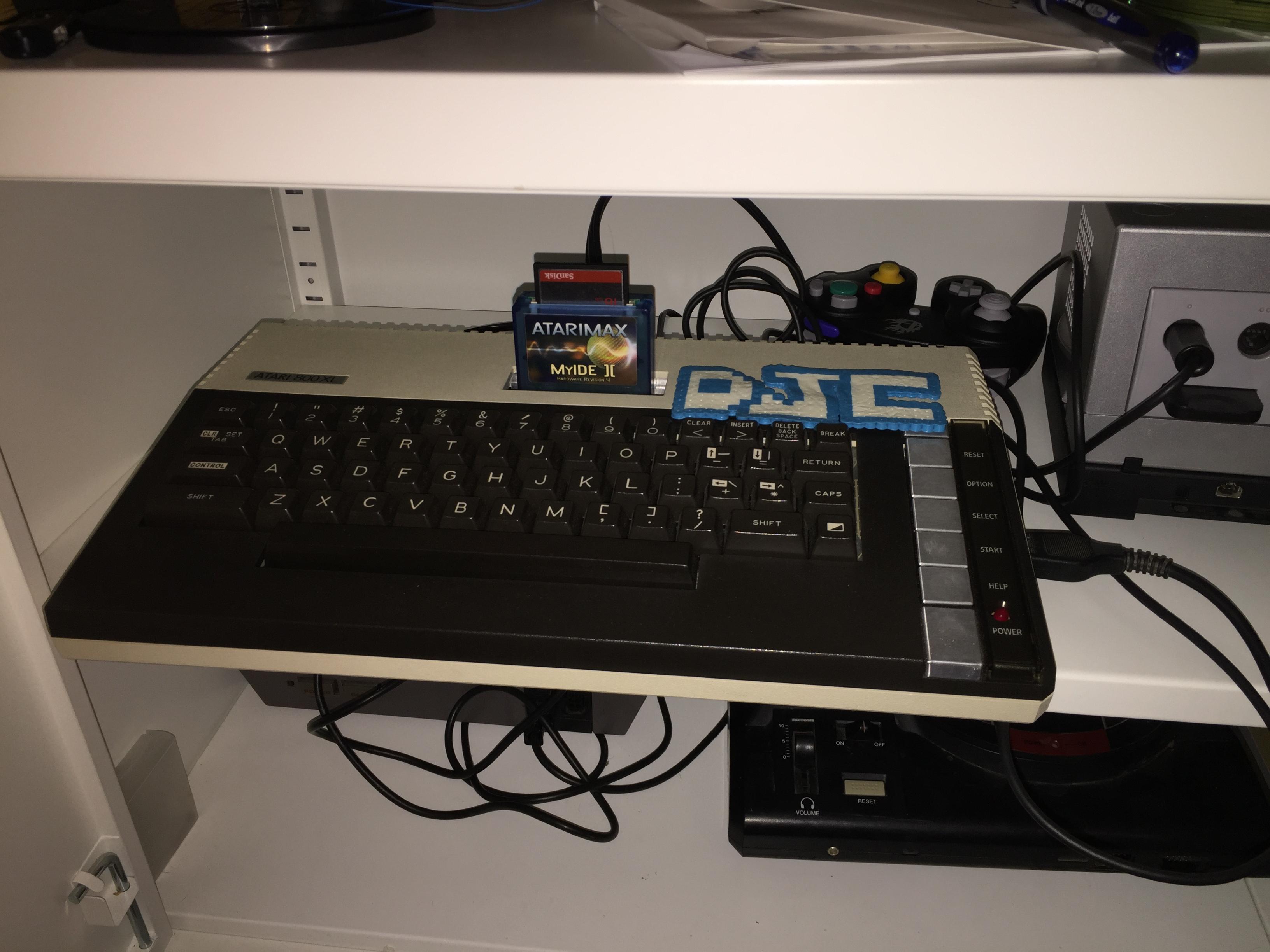 derek: PET Galaga (Atari 400/800/XL/XE) 59,970 points on 2016-03-02 20:38:09