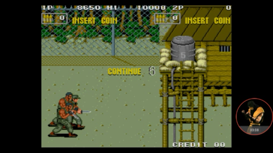 omargeddon: P.O.W.: Prisoners of War [pow] (Arcade Emulated / M.A.M.E.) 8,650 points on 2017-11-29 22:36:49
