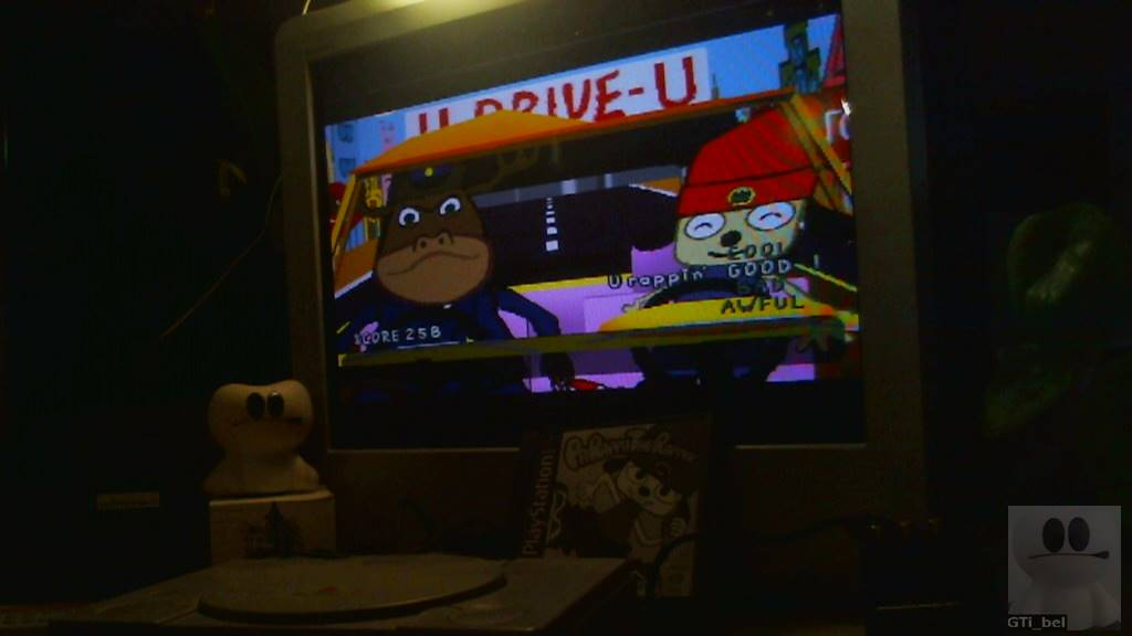 GTibel: PaRappa The Rapper: Stage 2 [Instructor Mooselini/Easy] (Playstation 1) 258 points on 2018-03-04 11:36:10