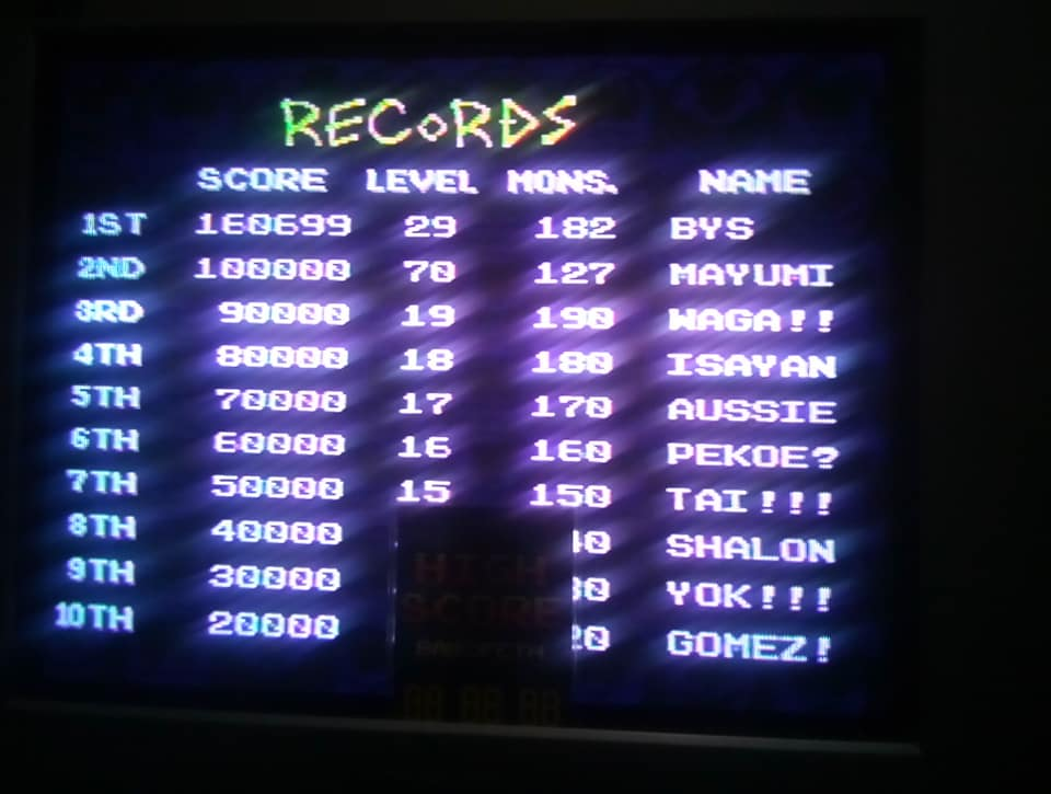 BabofetH: Pac-Attack (Sega Genesis / MegaDrive) 160,699 points on 2020-08-07 13:49:02