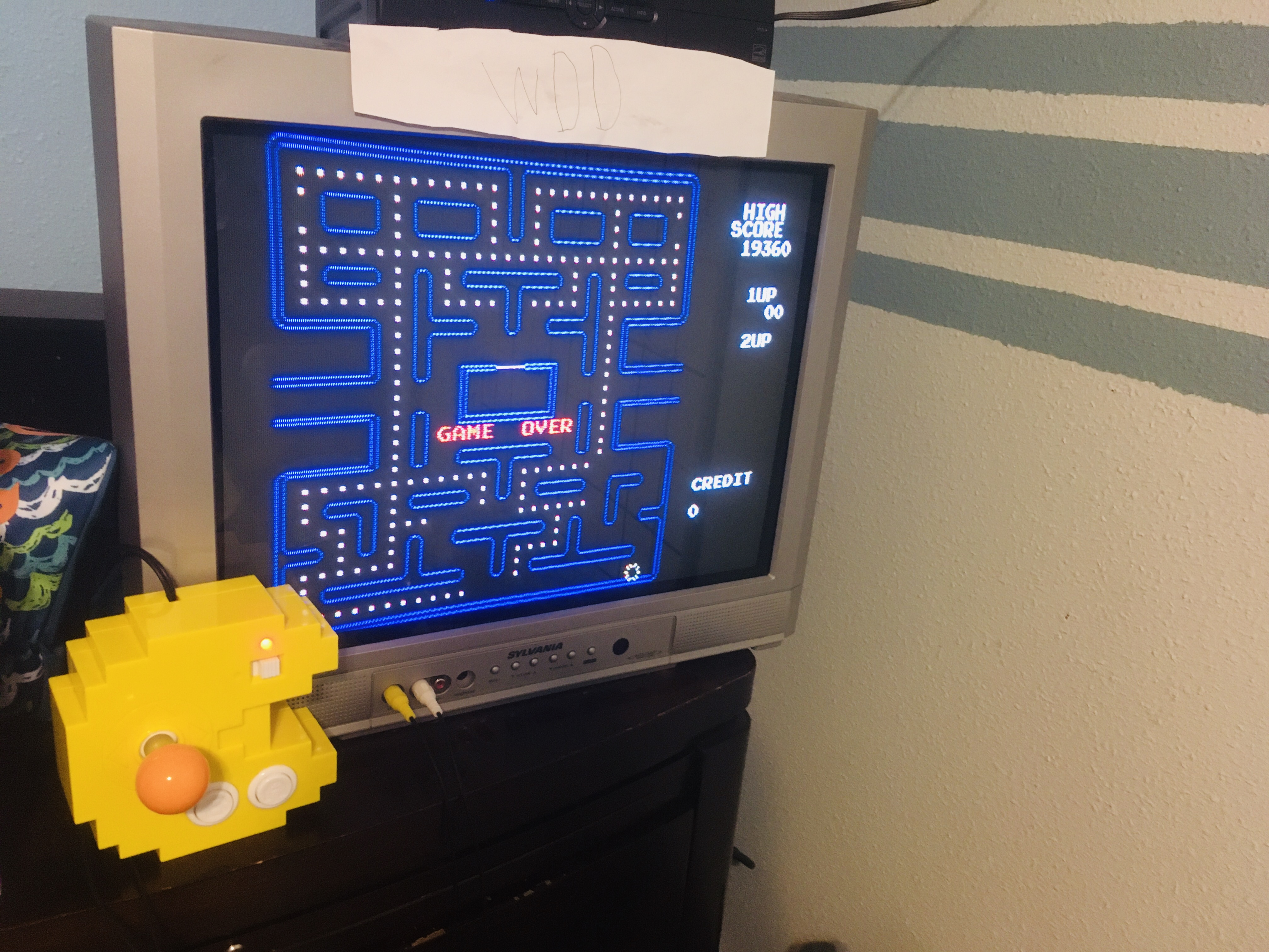 Pac-Man 256 19,360 points