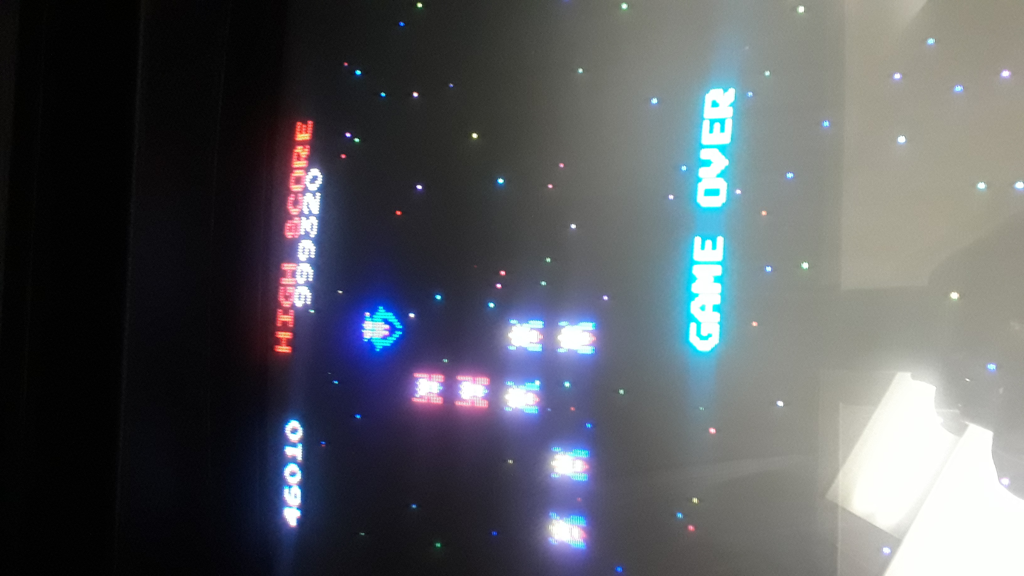 JML101582: Pac-Man 25th Anniversary Edition: Galaga (Arcade) 46,010 points on 2019-10-15 15:07:02
