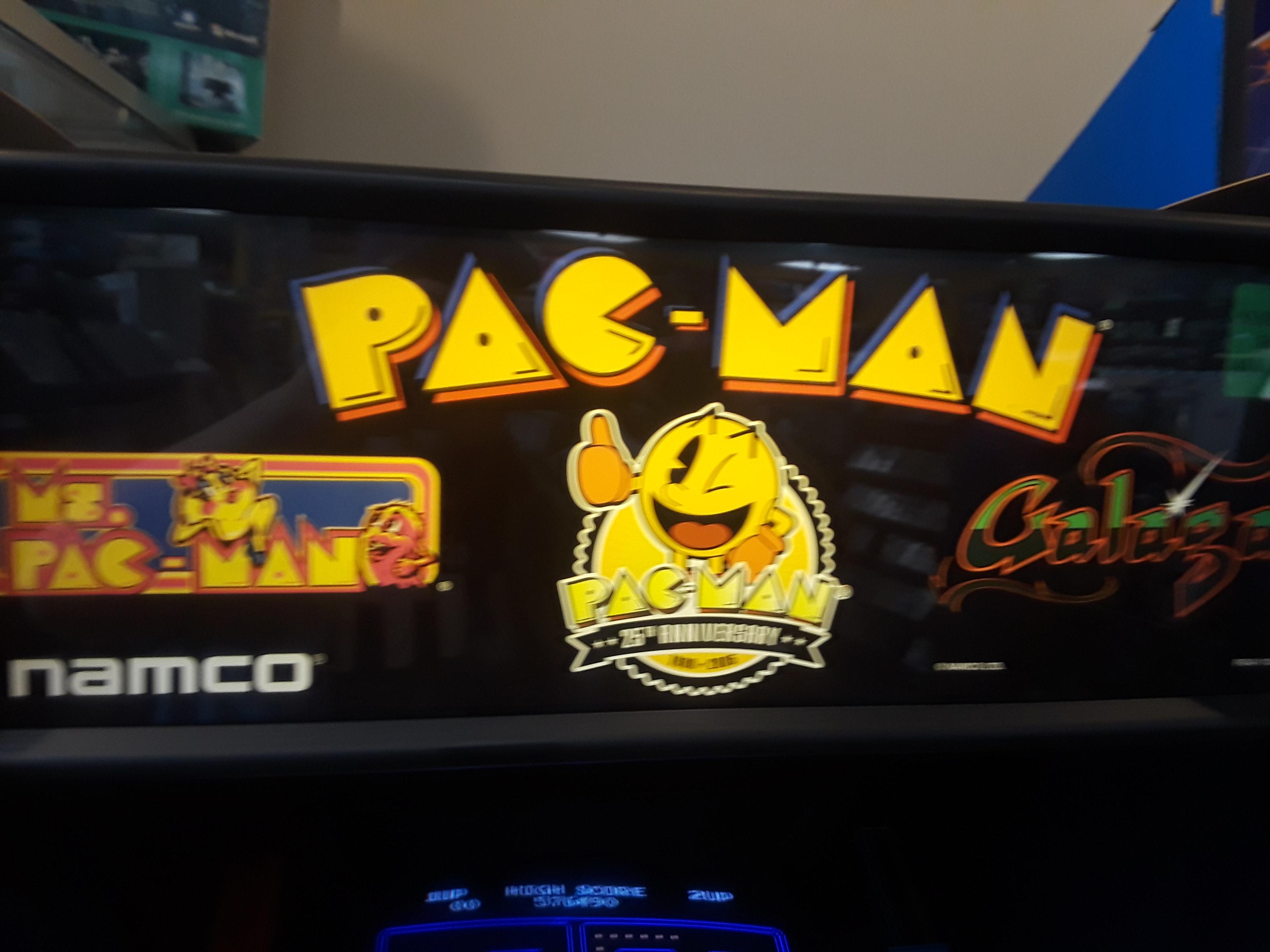 Pac-Man 25th Anniversary Edition: Ms. Pac-Man 3,150 points