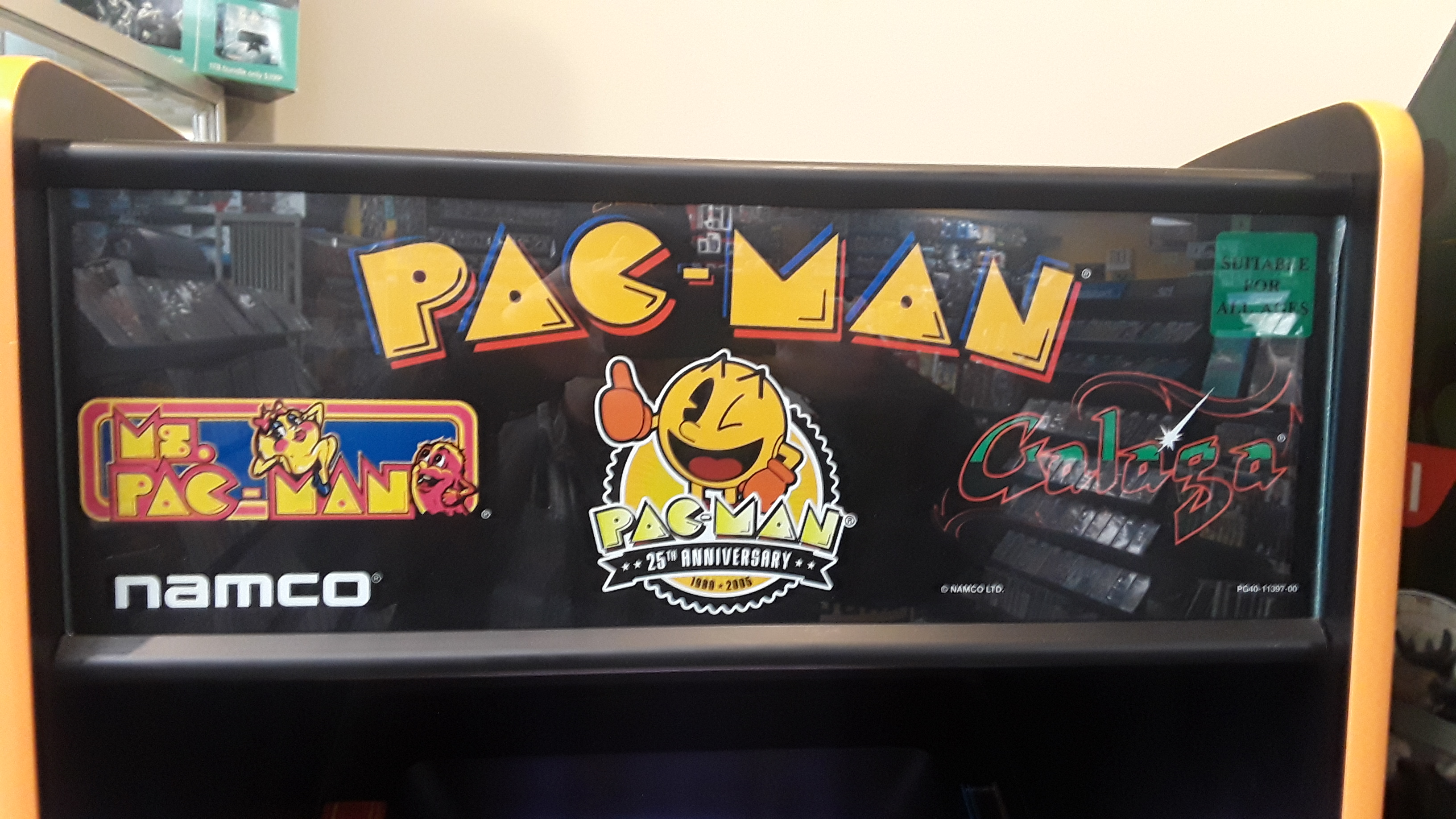 JML101582: Pac-Man 25th Anniversary Edition: Ms. Pac-Man (Arcade) 17,240 points on 2019-10-15 15:05:52