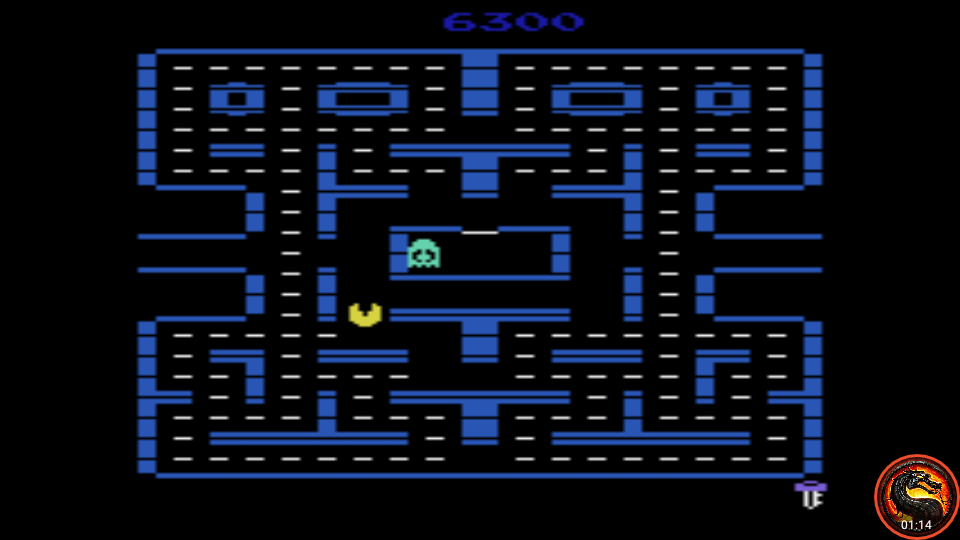 omargeddon: Pac-Man 4K: Key Start (Atari 2600 Emulated Expert/A Mode) 6,300 points on 2020-05-31 01:34:57